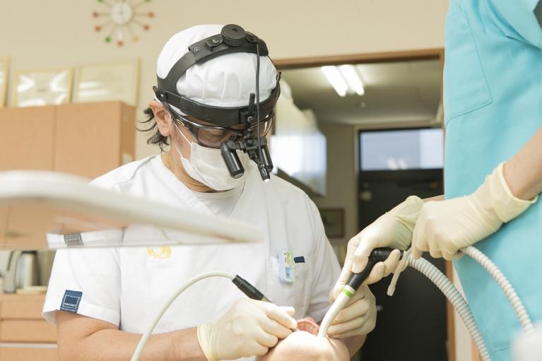 歯科治療のプロが集う環境です