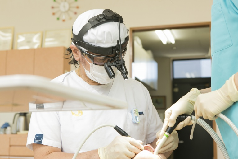 最新の高度な技術による豊富な治療バリエーション